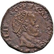 1 Tornese - Felipe II – obverse