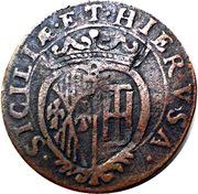 1 Grano - Carlos II – reverse