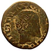 3 Cavalli - Felipe II – obverse
