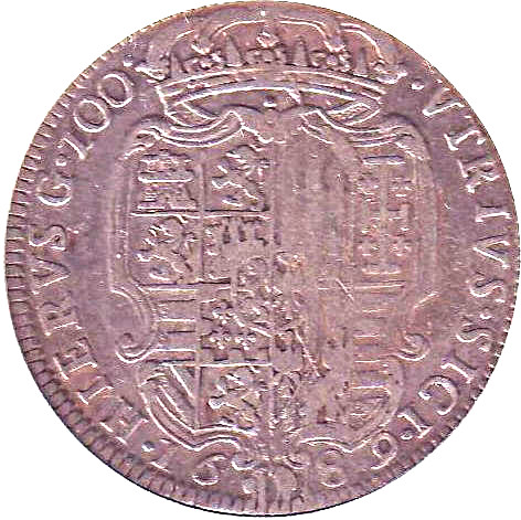 1 Ducato - Charles II - Kingdo...