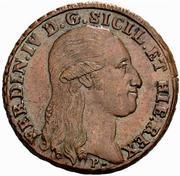 8 Tornesi - Ferdinando IV – obverse