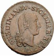 10 Tornesi - Ferdinando IV – obverse