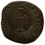 1 denaro (obolo) - Carlo V – reverse