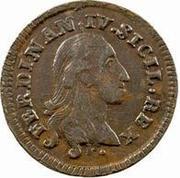 1 Tornese - Ferdinando IV – obverse