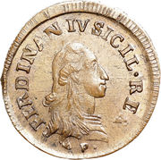 9 Cavalli - Ferdinando IV – obverse