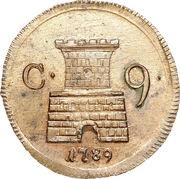 9 Cavalli - Ferdinando IV – reverse