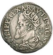 Carlino -  Filippo II – obverse