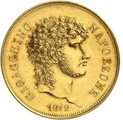 2 Lire - Joachim Murat (Gold pattern) – obverse