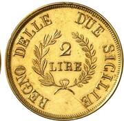 2 Lire - Joachim Murat (Gold pattern) – reverse