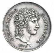 2 Lire - Joachim Murat (Silver pattern) – obverse