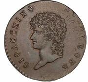 3 Centesimi - Joachim Murat – obverse