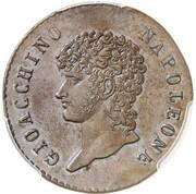5 Centesimi - Joachim Murat – obverse
