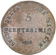 5 Centesimi - Joachim Murat – reverse