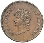 10 Centesimi - Joachim Murat – obverse