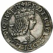 1 Carlino - Federico III – obverse