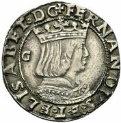 1 Carlino - Fernando II – obverse