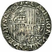 1 Carlino - Fernando II – reverse