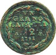 1 Grano - Ferdinando IV – reverse