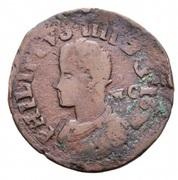 1 Pubblica - Felipe IV – obverse