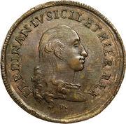 3 Tornesi - Ferdinando IV – obverse