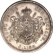 5 Lire - Joachim Murat – reverse