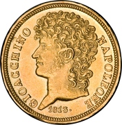 20 Lire - Joachim Murat – obverse