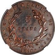 3 Grana - Joachim Murat – reverse