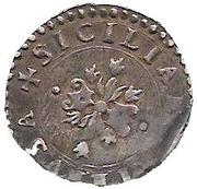½ Carlino - Felipe II – reverse