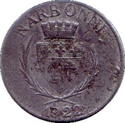 10 Centimes (Narbonne) – obverse