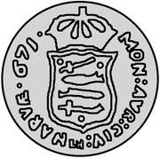 1 Dukat - Carl XI (Trial strike) – reverse