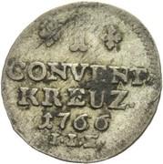 1 Conventionskreuzer – reverse