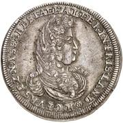 ⅔ Thaler - Heinrich Casimir II – obverse