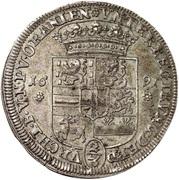 ⅔ Thaler - Heinrich Casimir II – reverse