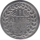 2 Albus - Heinrich Casimir II – reverse