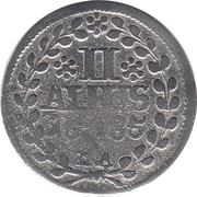 2 Albus - Heinrich Casimir II -  reverse