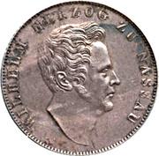 1 Gulden - Wilhelm – obverse
