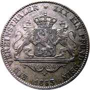 1 Kronentaler - Adolph -  reverse