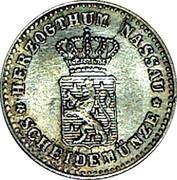 1 Kreuzer - Adolph – obverse