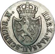 3 Kreuzer - Friedrich August – obverse