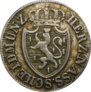 3 Kreuzer - Wilhelm I – obverse