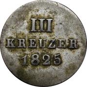 3 Kreuzer - Wilhelm I – reverse