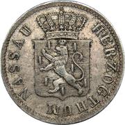 3 Kreuzer - Adolph I – obverse
