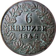 6 Kreuzer - Adolph – reverse