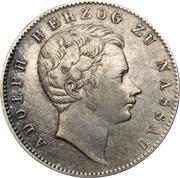 ½ Gulden - Adolph I – obverse