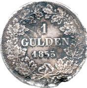 1 Gulden - Adolph I – reverse
