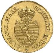 ¼ Kreuzer - Friedrich Wilhelm & Friedrich August (Gold Pattern) – obverse