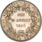 1 Thaler - Adolph – reverse