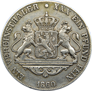 1 Vereinsthaler - Adolph – reverse