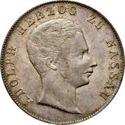 2 Gulden - Adolph – obverse