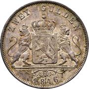 2 Gulden - Adolph – reverse